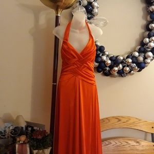 Orange Formal Dress